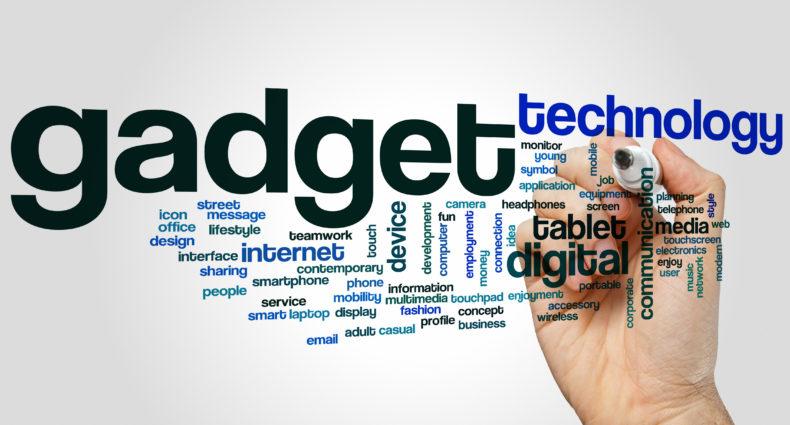 Gadget word cloud concept