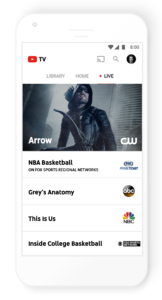「Youtube TV」