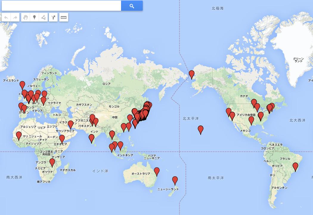 2ステップでOK!Googleアナリティクスのデータを地図上に表示させる方法