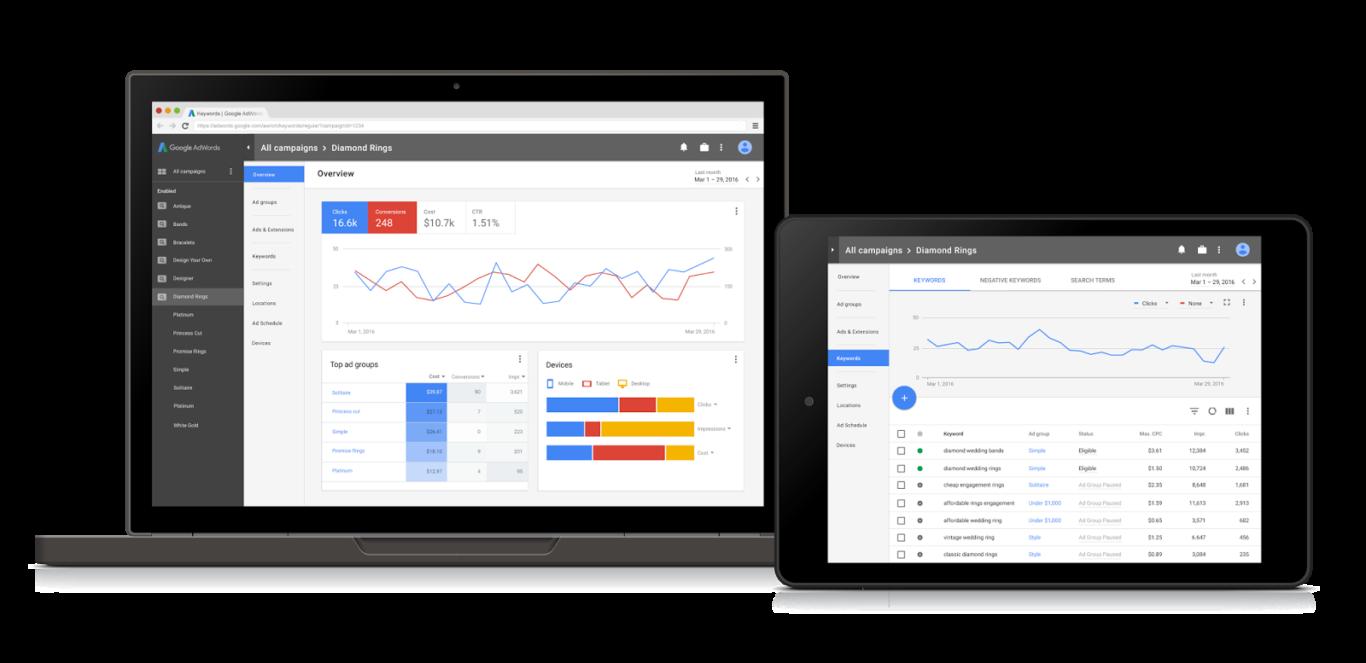 2017年ごろまでにGoogleAdwordsの完全デザインリニューアル予定と発表